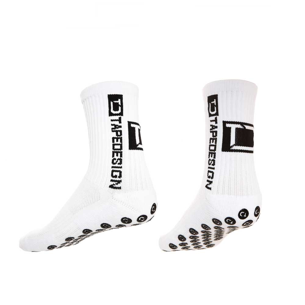 sports shoes 1132f 09286 Chaussettes antidérapantes blanches - Tape Design at shop Rugby-Cor.