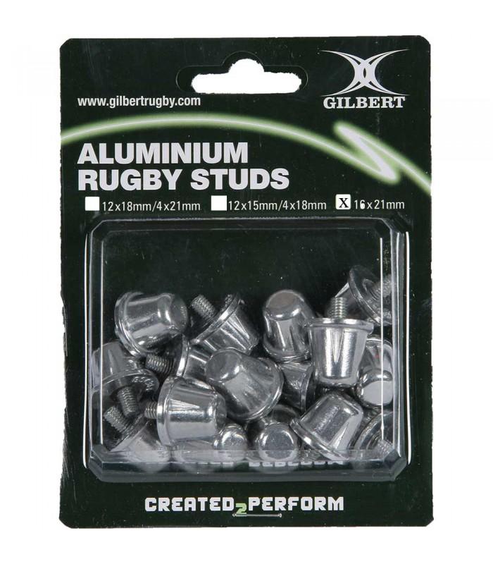 Pack de 16 crampons rugby alu - 21 MM - Gilbert