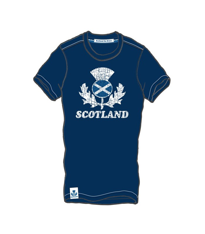 Tee-shirt rugby Ecosse supporter adulte - Scotland