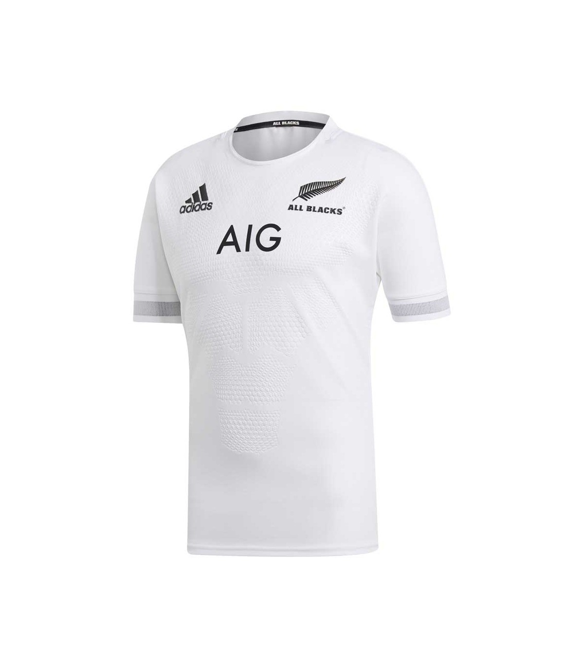 buy popular ed783 0e943 Maillot rugby All Blacks, réplica extérieur 2018/2019 adulte - adid...