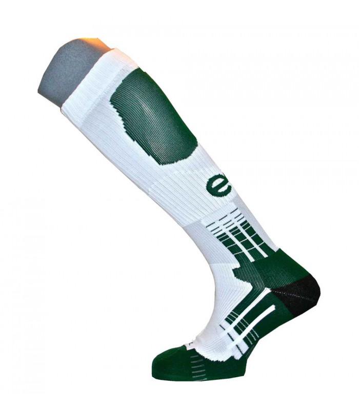 Chaussettes Physiologeek vert/blanc - Technifeet