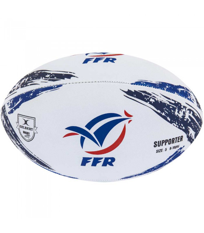 Ballon rugby - Supporter France - T5 - Gilbert
