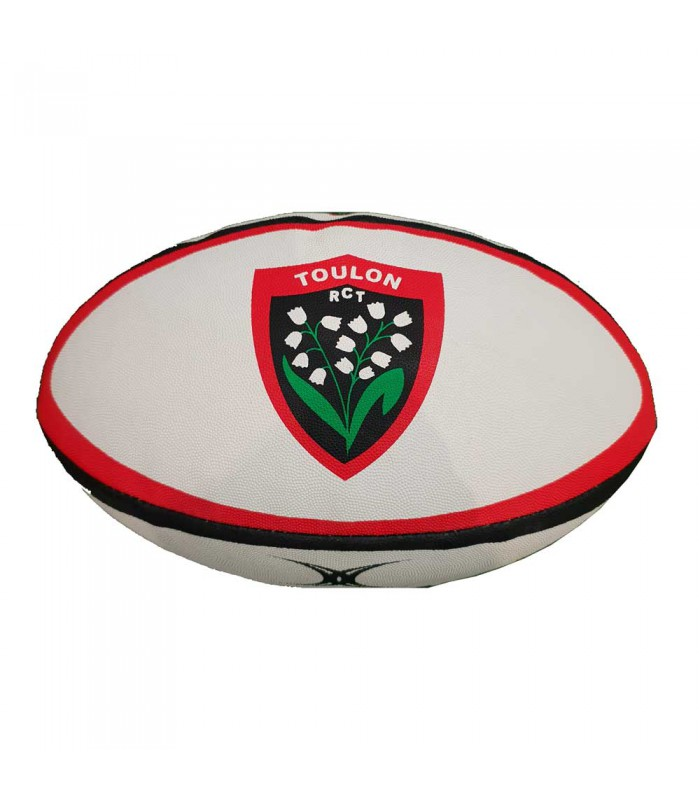 Ballon Rugby Club Toulonnais réplica T5 - Gilbert