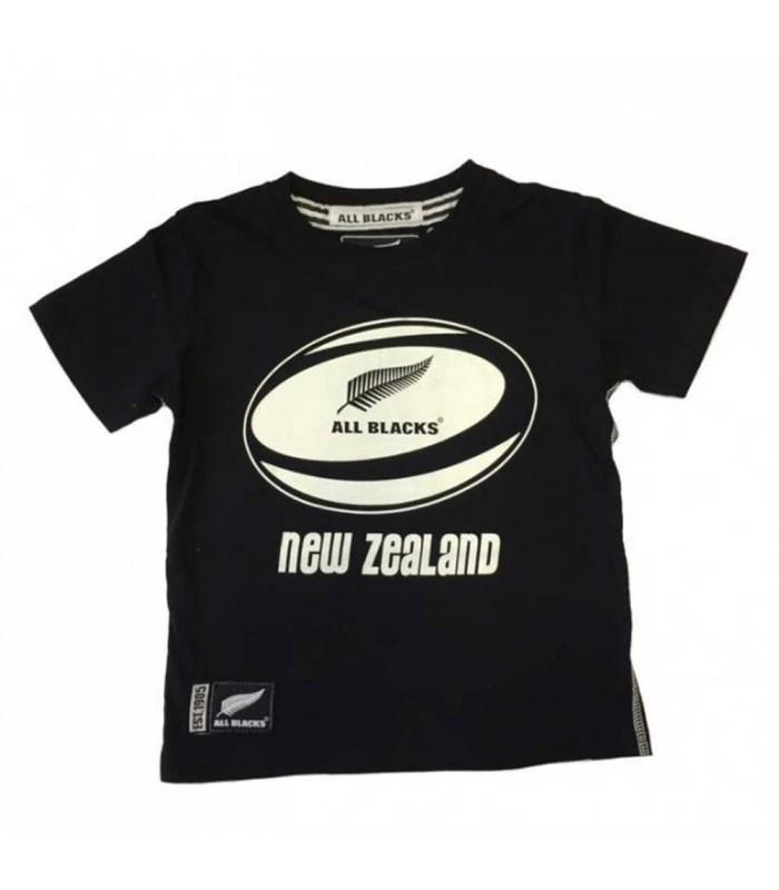 Tee-shirt rugby All Blacks ballon enfant - All Blacks