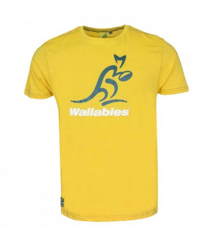 Tee-shirt rugby Australie logo adulte - Wallabies
