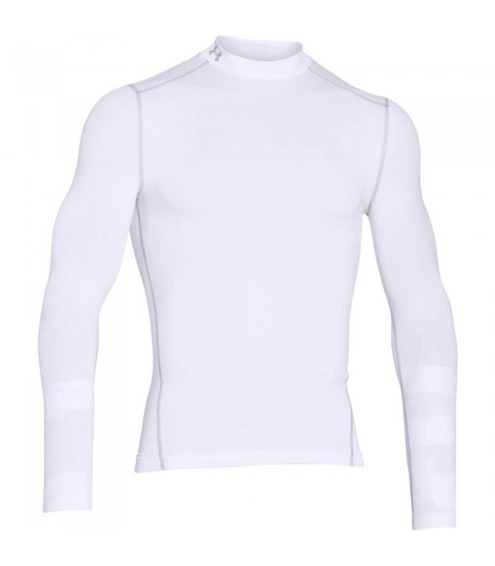 Baselayer de compression rugby UA ColdGear col montant - Under Armour