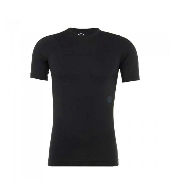 Tee shirt rugby de compression - UA Rush noir - UNDER ARMOUR