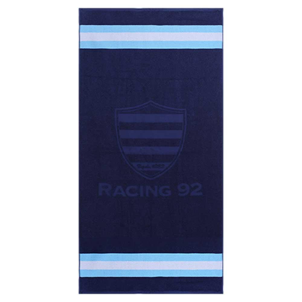 Serviette De Bain Rugby.Serviette De Bain Racing 92 Bleu Fonce Racing 1882