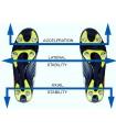 Crampons rugby / football - Pack Profiler 8 mm plastiques (crampons/rondelles/clé) - Smart Power (copie) (copie)
