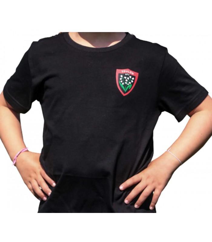 d306949d203ce Tee-shirt Rugby Club Toulonnais enfant - RCT chez Rugby-Corner.com