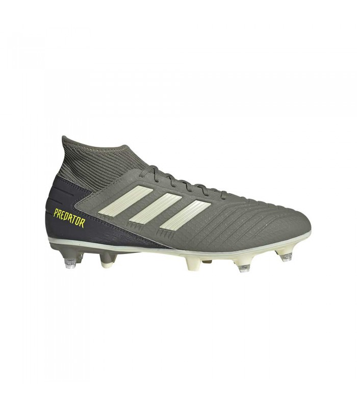 Crampons rugby hybrides adulte - Predator 19.3 SG - Adidas