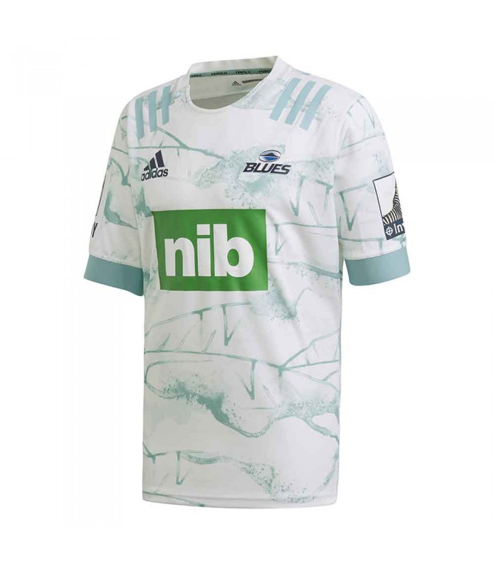 Maillot rugby Auckland Blues extérieur 2020/2021 adulte - Adidas