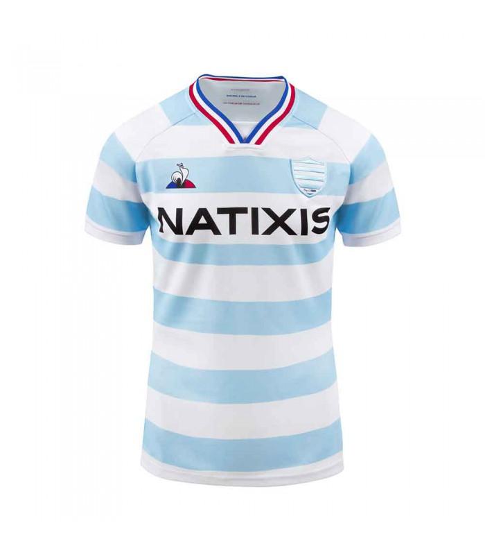 Maillot rugby Racing 92, réplica domicile 2020/2021 adulte - Le Coq Sportif