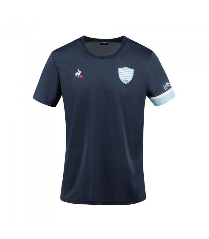 Tee shirt rugby Racing 92, entrainement 2020/2021 adulte - Le Coq Sportif