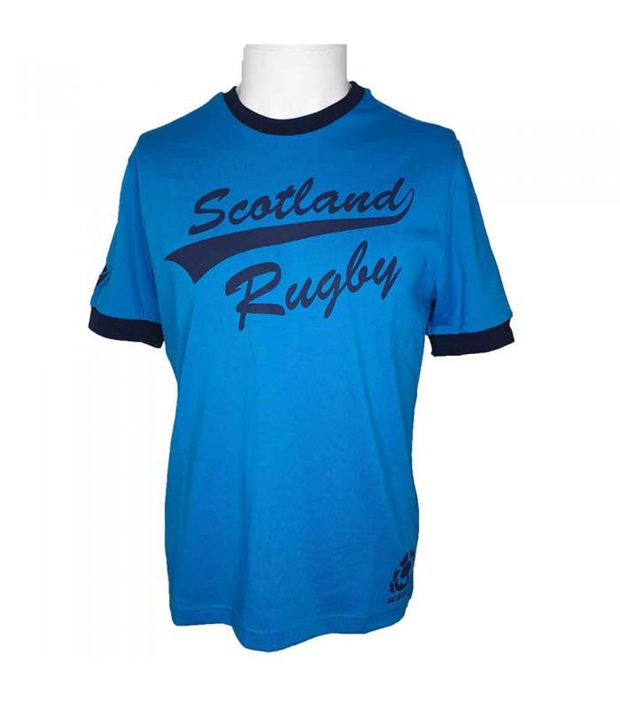 Tee-shirt rugby Ecosse (SRU) supporter 2020/2021 adulte - MACRON