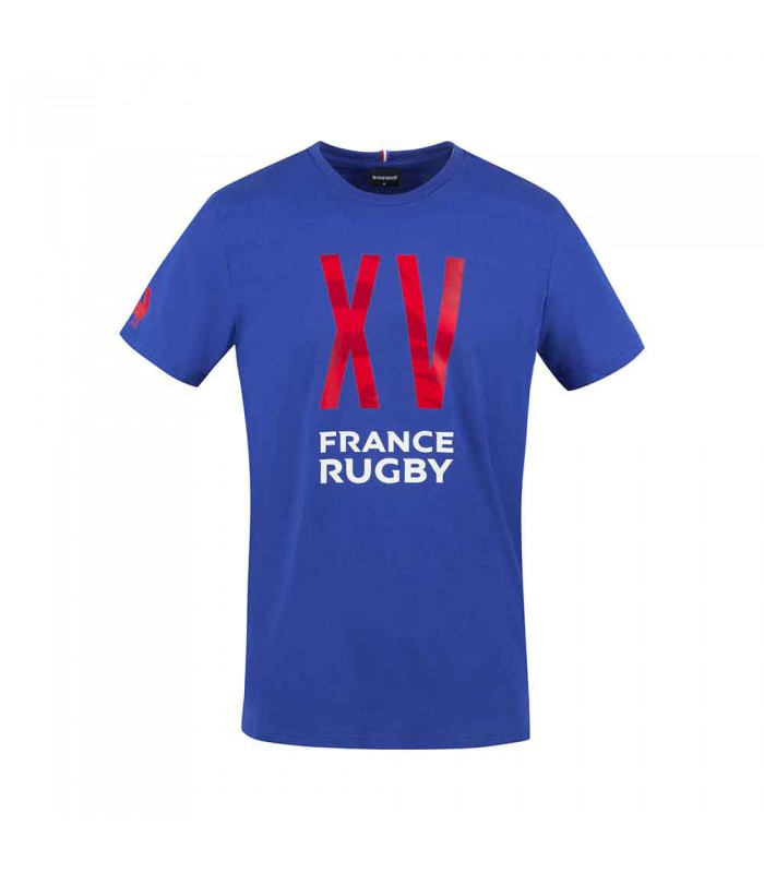 Tee-shirt rugby France Rugby fanwear 2020/2021 homme - Le Coq Sportif