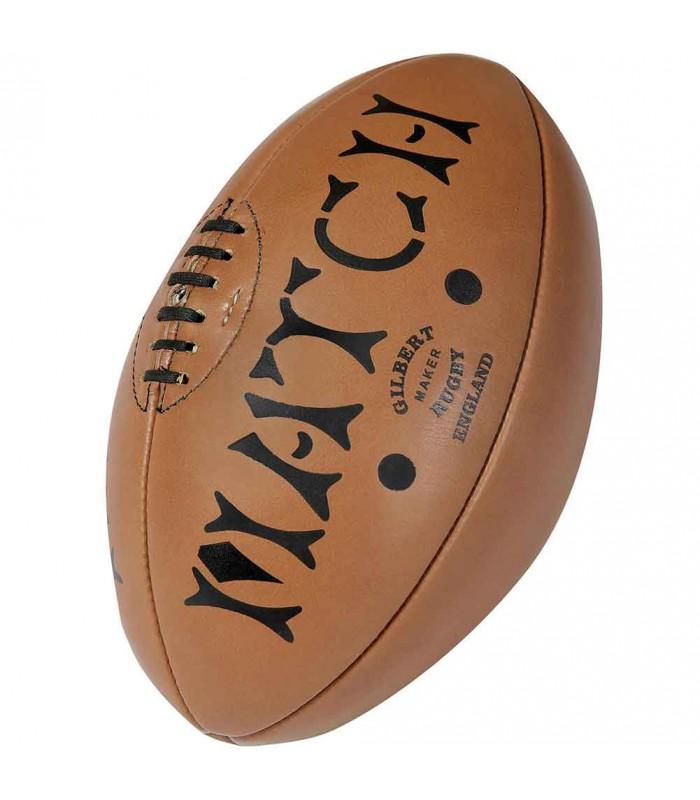 Ballon rugby Héritage Cuir - T5 - Gilbert
