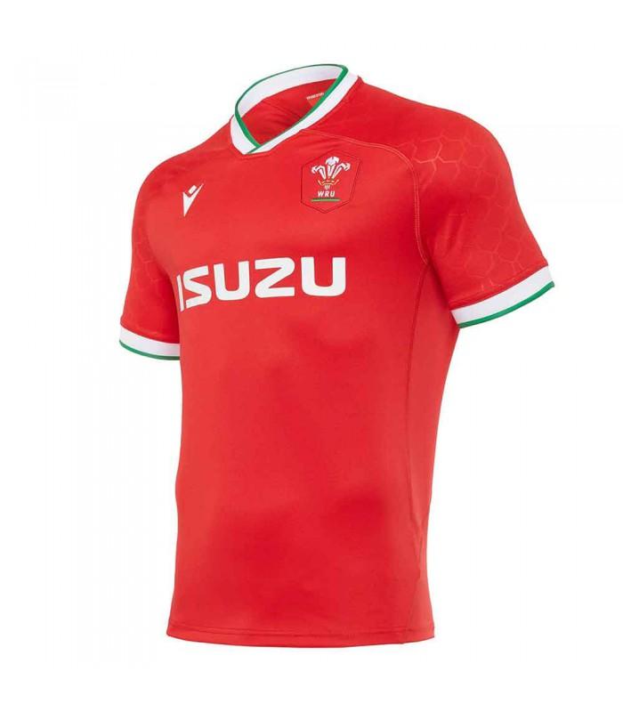 Maillot rugby Pays de Galles (WRU) réplica domicile 2020/2021  adulte - Macron