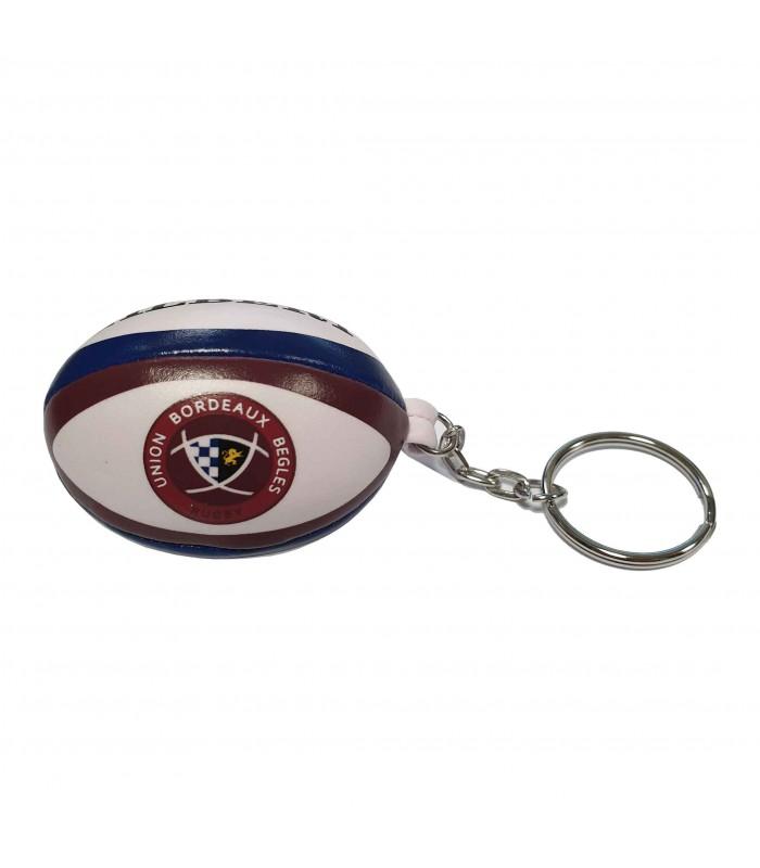 Porte clés rugby - Union Bordeaux-Bègles (UBB) - Gilbert