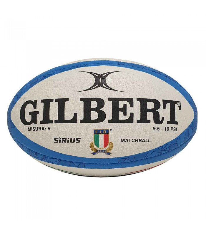 Ballon rugby Match Sirius 6 Nations 2021 Italie T5 - Gilbert