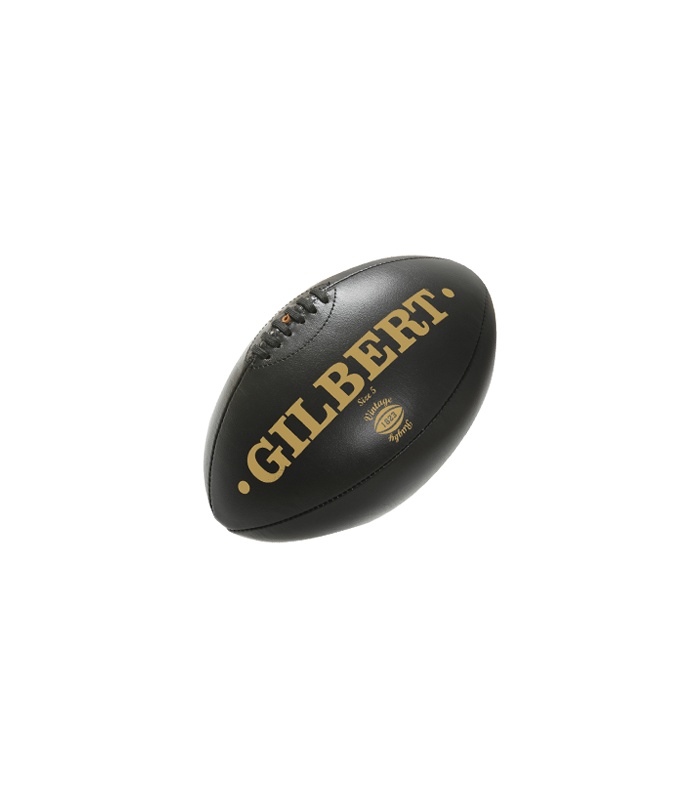 Ballon Vintage Cuir Noir - T5 - Gilbert