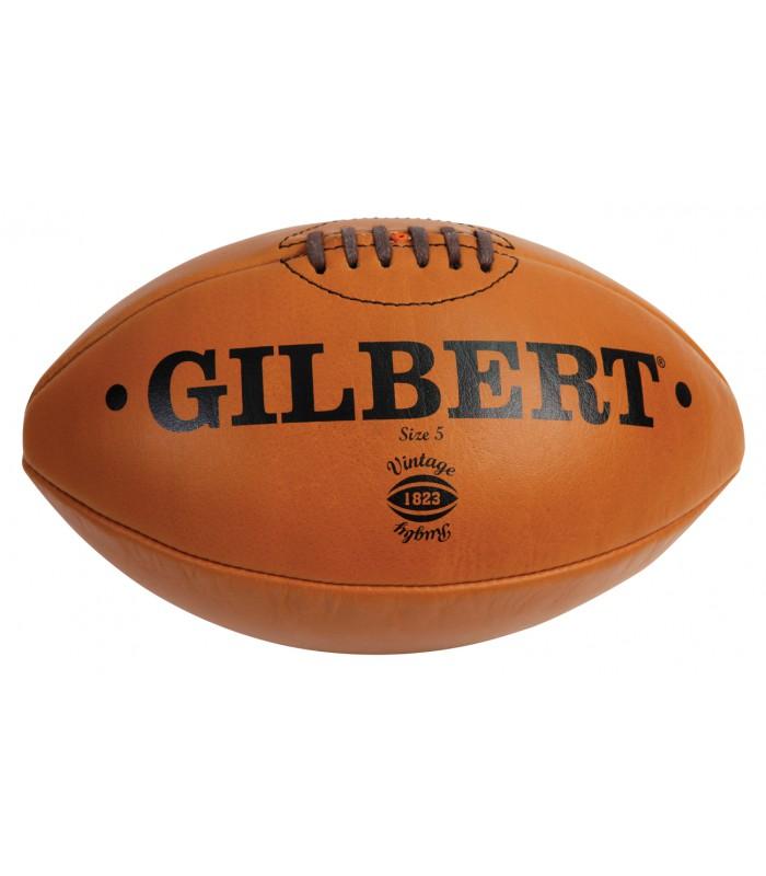Ballon Vintage Cuir naturel - T5 - Gilbert