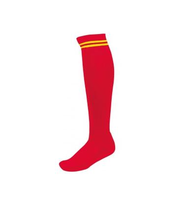 Chaussettes - Rouge/Jaune - Pro 10