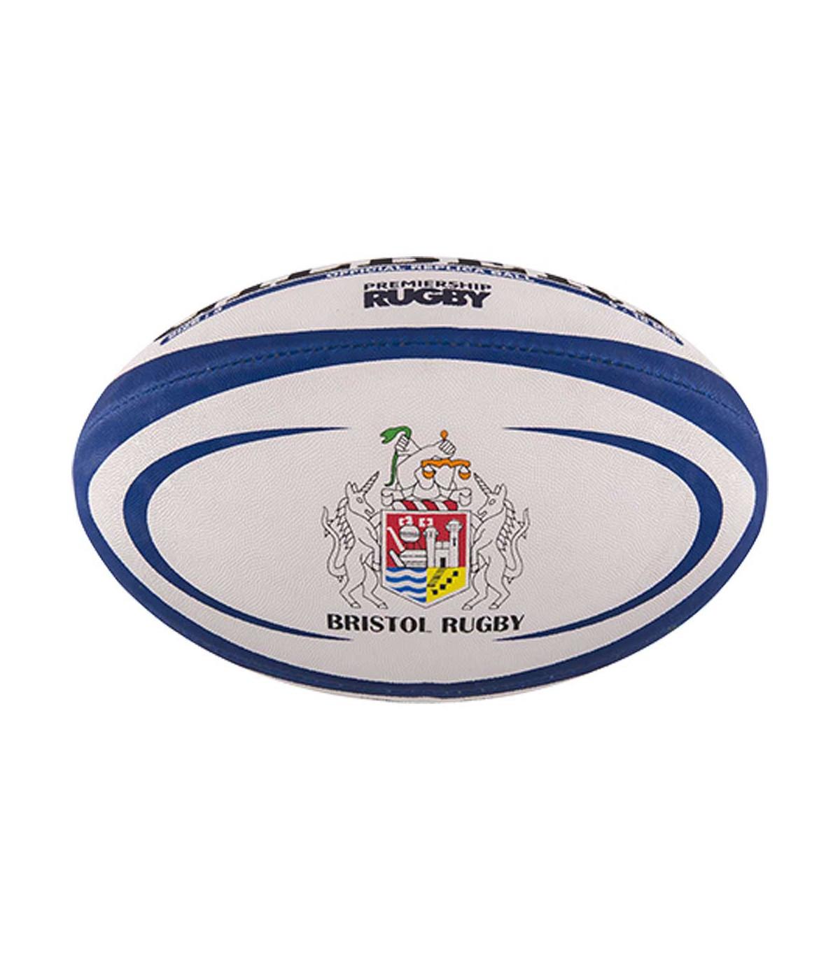 Ballon rugby Bristol - Réplica T5 - Gilbert chez Rugby