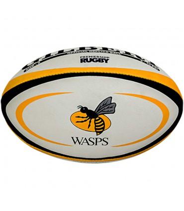 Ballon rugby Wasps - Réplica T5 - Gilbert