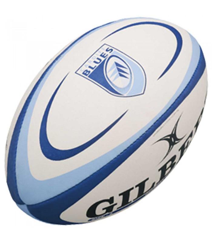 Ballon rugby Cardiff Blues - Réplica T5 - Gilbert