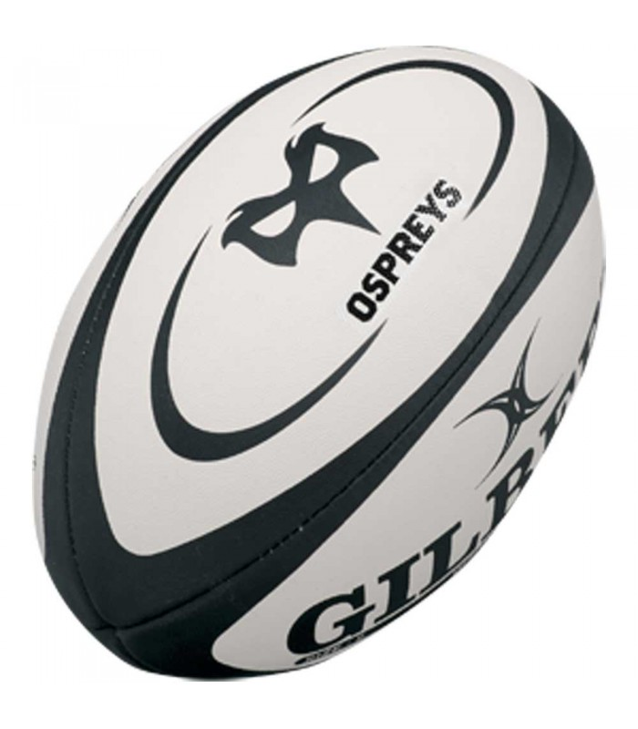 Ballon rugby Ospreys - Réplica T5 - Gilbert