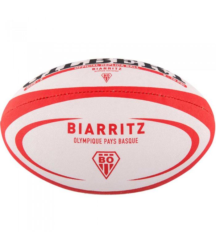 Ballon rugby Biarritz Olympique réplica T5 - Gilbert