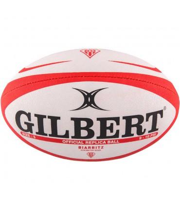 Ballon rugby Biarritz Olympique réplica mini - Gilbert