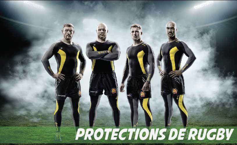Protections de Rugby - Casques de rugby - Épaulières - Protège-dents