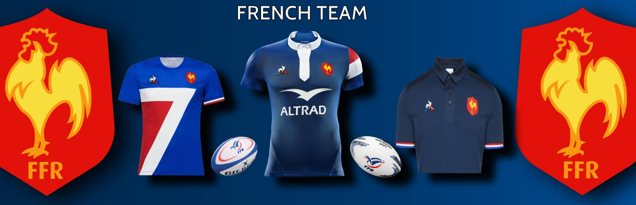 FRENCH RUGBY TEAMS OFFICIAL COLLECTION