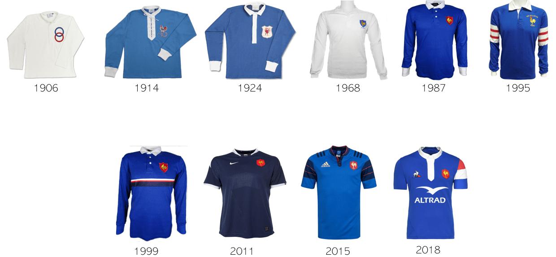 Mailot Equipe de France PRO de Rugby Le coq sportif Bleu